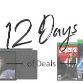 Microsoft Kicks off their 12 Days of Deals on Surface, Xbox, Virtual Reality, and More Image
